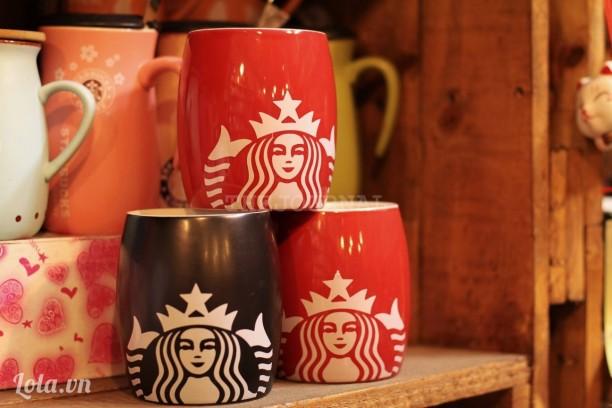 Ly coffee Starbuck bầu