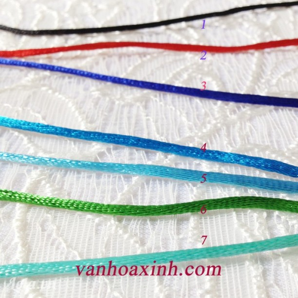 Dây đan vòng và thắt nút Chinese knot