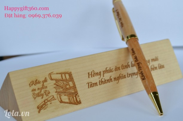 Bút gỗ may mắn - Qùa may mắn