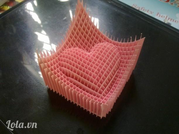 Trái tim 3D - Nghệ thuật Kirigami