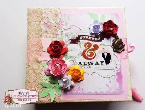 Album Ảnh - Scrapbook Wedding