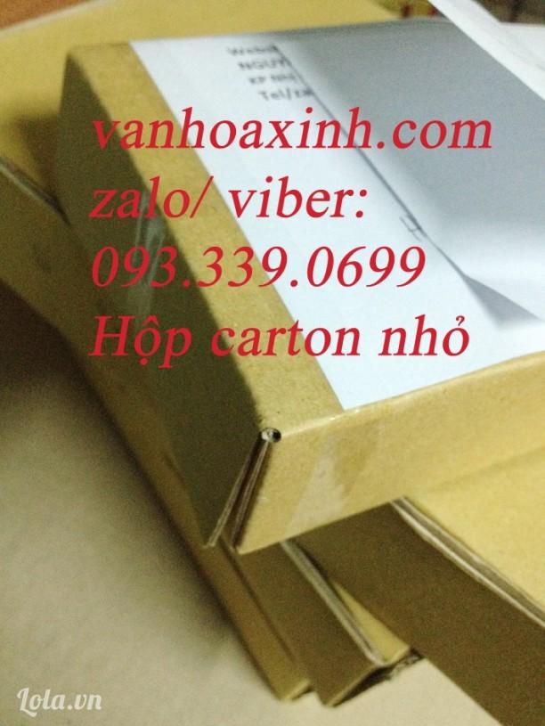 100 Hộp carton nhỏ gói hàng gửi bưu điện