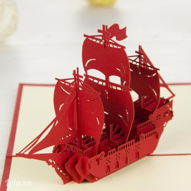 Thuyền Sailboat mô hình