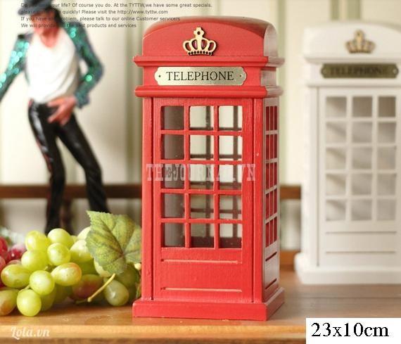 Booth điện thoại London Ver 2