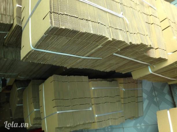 Chuyên sỉ hộp carton nhỏ gói hàng