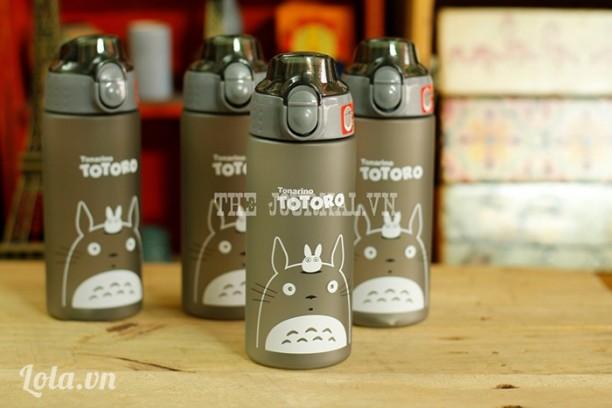 Bình Totoro nắp bật