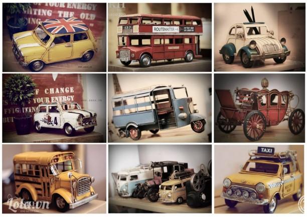 Mô hình Xe London Bus 2 tầng handmade