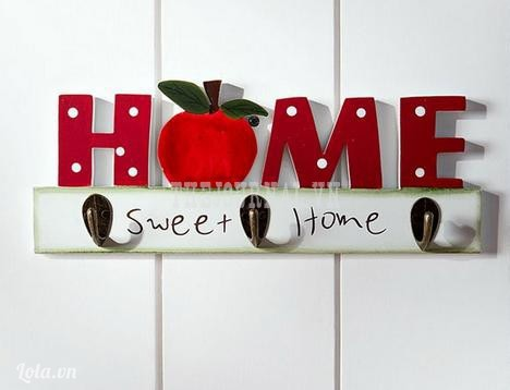 Móc HOME táo đỏ