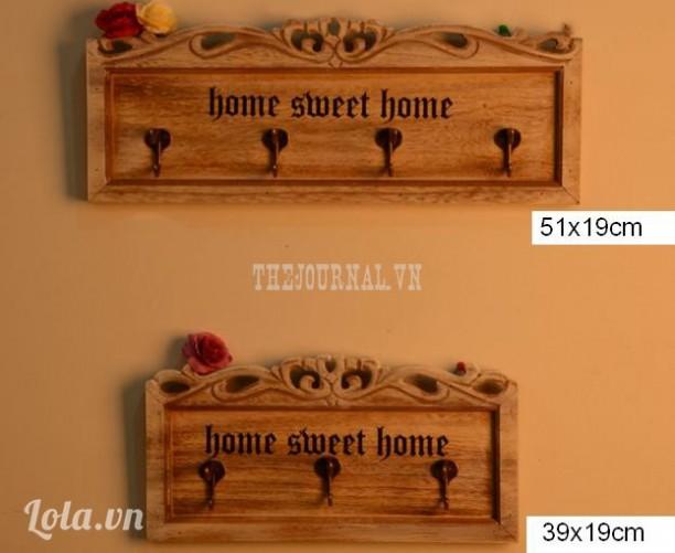 Móc gỗ home sweet home
