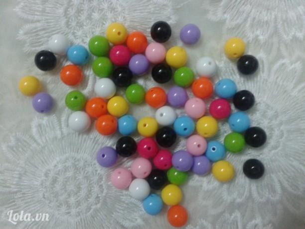 Hạt nhựa bóng đẹp giá sĩ-500g