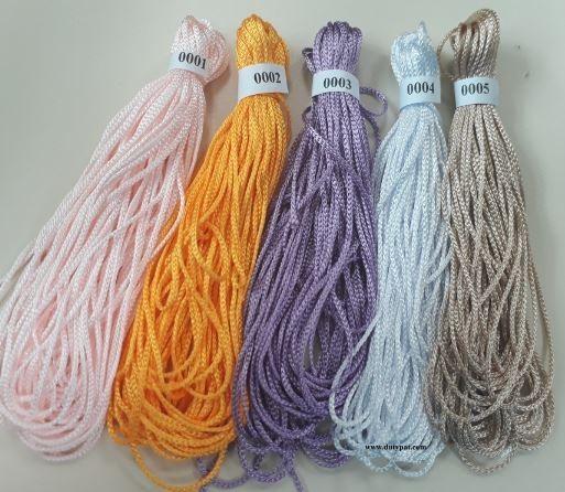 dây dù đan vòng 1mm (bó 10m)