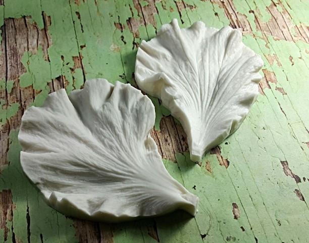 Hibicus - Khuôn vân nhựa dẻo hoa đất lấy vân 2 mặt