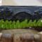 Vòng tay điêu khắc gỗ mun sừng