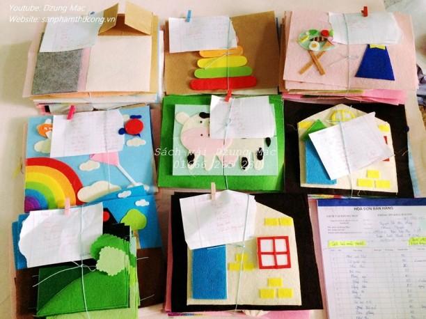 Sách vải cho bé - món quà tuyệt vời cho trẻ em