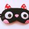 Bịt mắt mèo cute