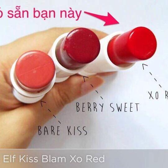 Son dưỡng ELF Lip Kiss Balm - có màu nhé