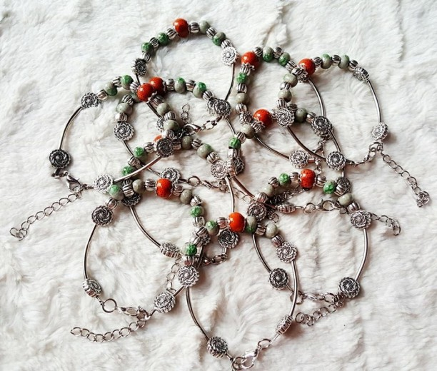 vòng handmade phong thủy- vòng tay handmade giá sỉ