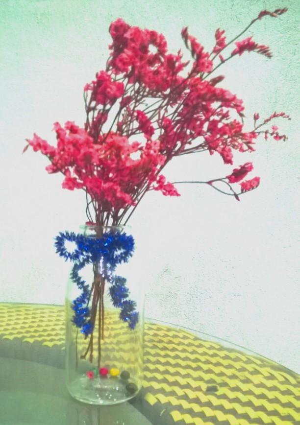 Lọ hoa khô