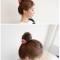Cột tóc handmade hoa hồng
