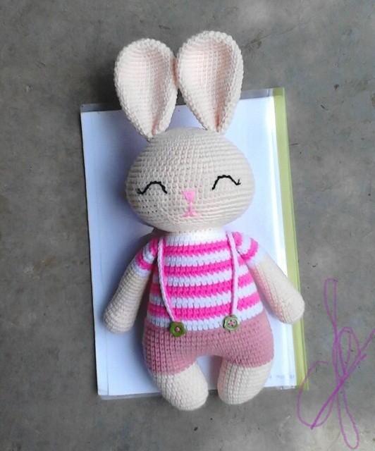 Thỏ quần hồng