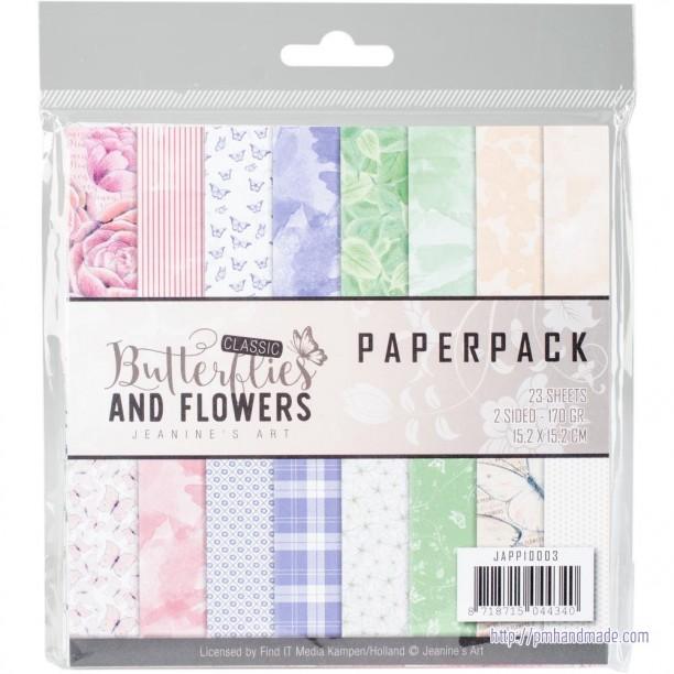 Paper Pack Mẫu Bướm & Hoa 6