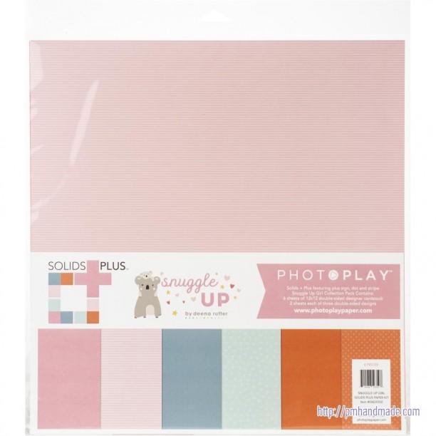 Paper Pack Màu Hoa Văn 12