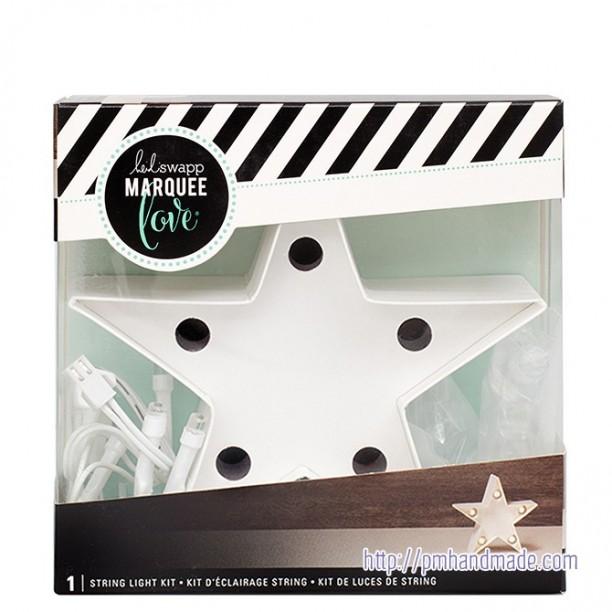 Đèn trang trí ngôi sao mẫu #1 - 10cm