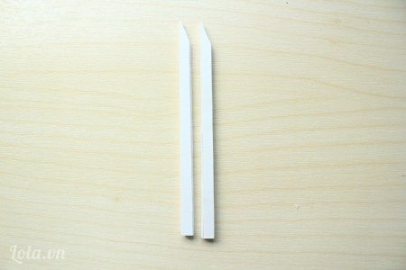 Vạt chéo đầu 2 thanh kích thước 6x12cm