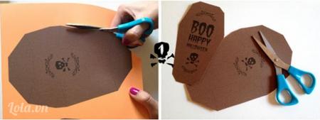 Bạn in hình mẫu hộp keo ra giấy và cắt chúng theo mẫu