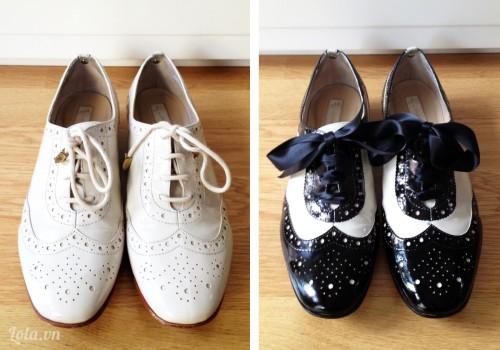 Mix giầy vintage cực lạ