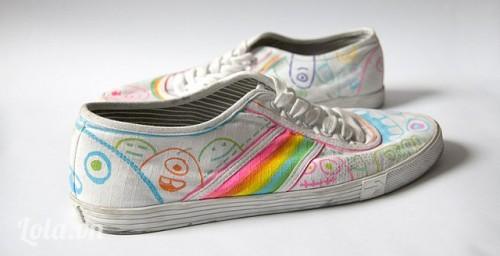 Giày vẽ