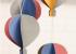 Làm khinh khí cầu từ giấy màu cứng