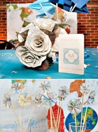 Tự trang trí đám cưới đơn giản và độc đáo