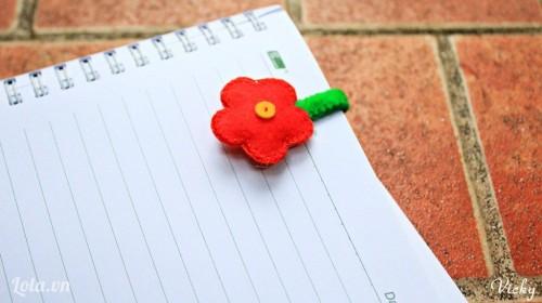 Bookmark hình hoa