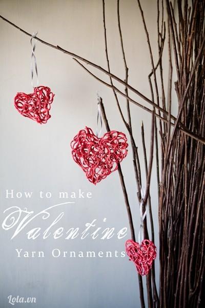 Làm trái tim ngọt ngào trang trí cho ngôi nhà của bạn