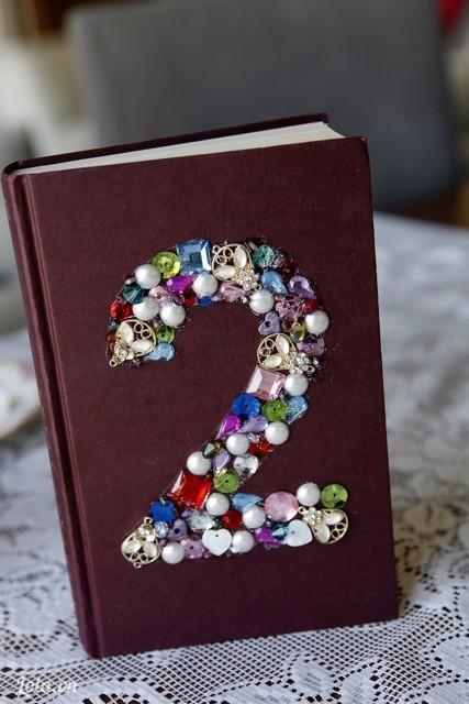 Sau khi đã hoàn thành thì quyển sổ của bạn sẽ xinh thế này đấy