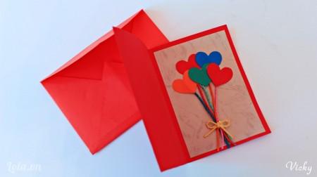 Chỉ với vài bước đơn giản là các bạn đã có ngay 1 chiếc thiệp dễ thương dành tặng ai đó nhân ngày Valentine rùi