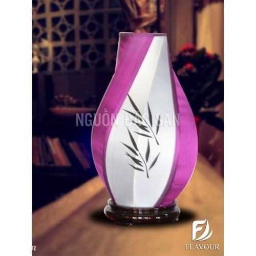 Đèn bàn xoắn DBA017 - Đèn bàn trang trí thủ công Hội An