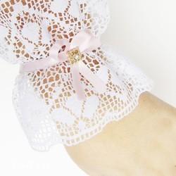 Bạn có thể kết hợp với đầm ngắn tay cho thêm phần xinh đẹp nhé.
