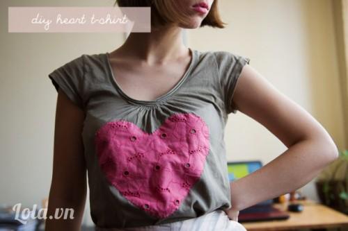 5 bước thay đổi diện mạo cho chiếc áo thun