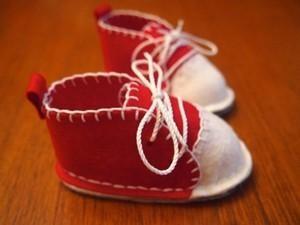 Làm giầy em bé