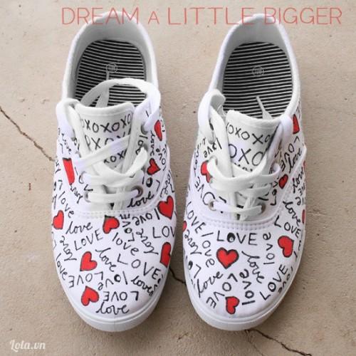 Mix đôi giày đáng yêu cho riêng bạn