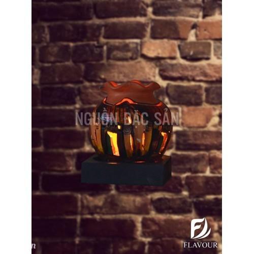 Đèn gốm điện DGD002 - Handmade Hội An
