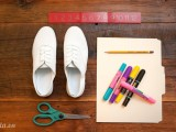 Mix giày sặc sỡ cho mùa hè năng động