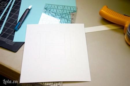 In hình mà bạn muốn làm  ra giấy cứng
