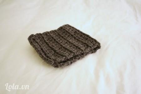 Tự bạn làm một đoạn len quắn cổ. Hay từ khăn len cũ cắt ra và mai nối lại