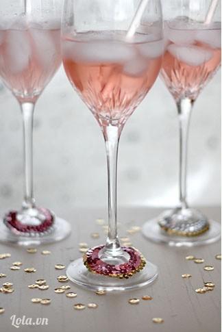 Trang trí Ly cocktail dự tiệc