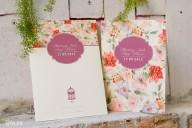 Bộ sưu tập thiệp cưới hoa lá vintage