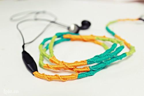 Thay đổi diện mạo mới cho chiếc dây tai nghe điện thoại