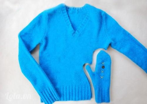 Sáng tạo găng tay len mùa đông